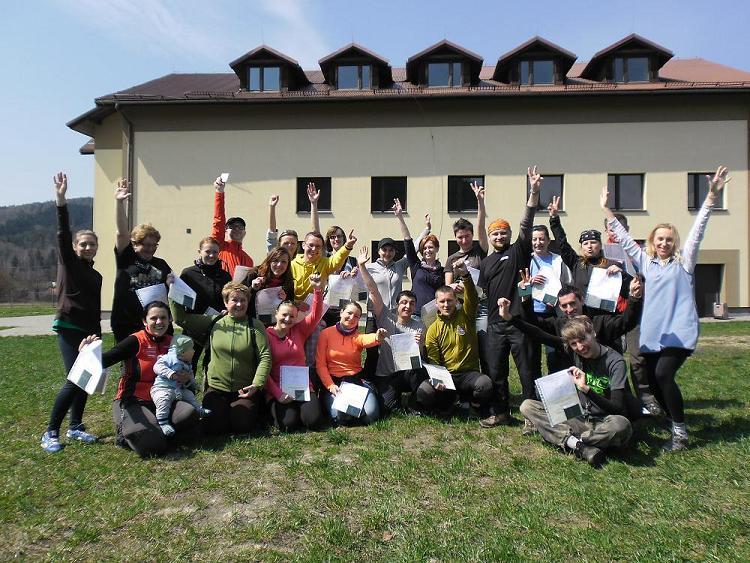 Instruktorzy Nordic Walking – Kurs w Gminnym Ośrodku Kultury w Koszarawie – 2013r.