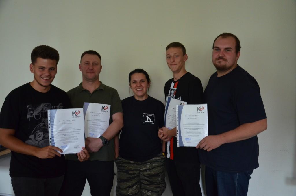 Instruktorzy Pierwszej Pomocy Przedmedycznej BLS/AES - Żywiec 2015r.